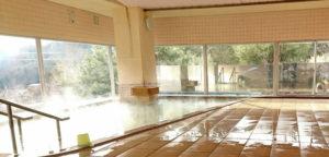 塩沢温泉七峰館、日帰り温泉、PM18時までとなります